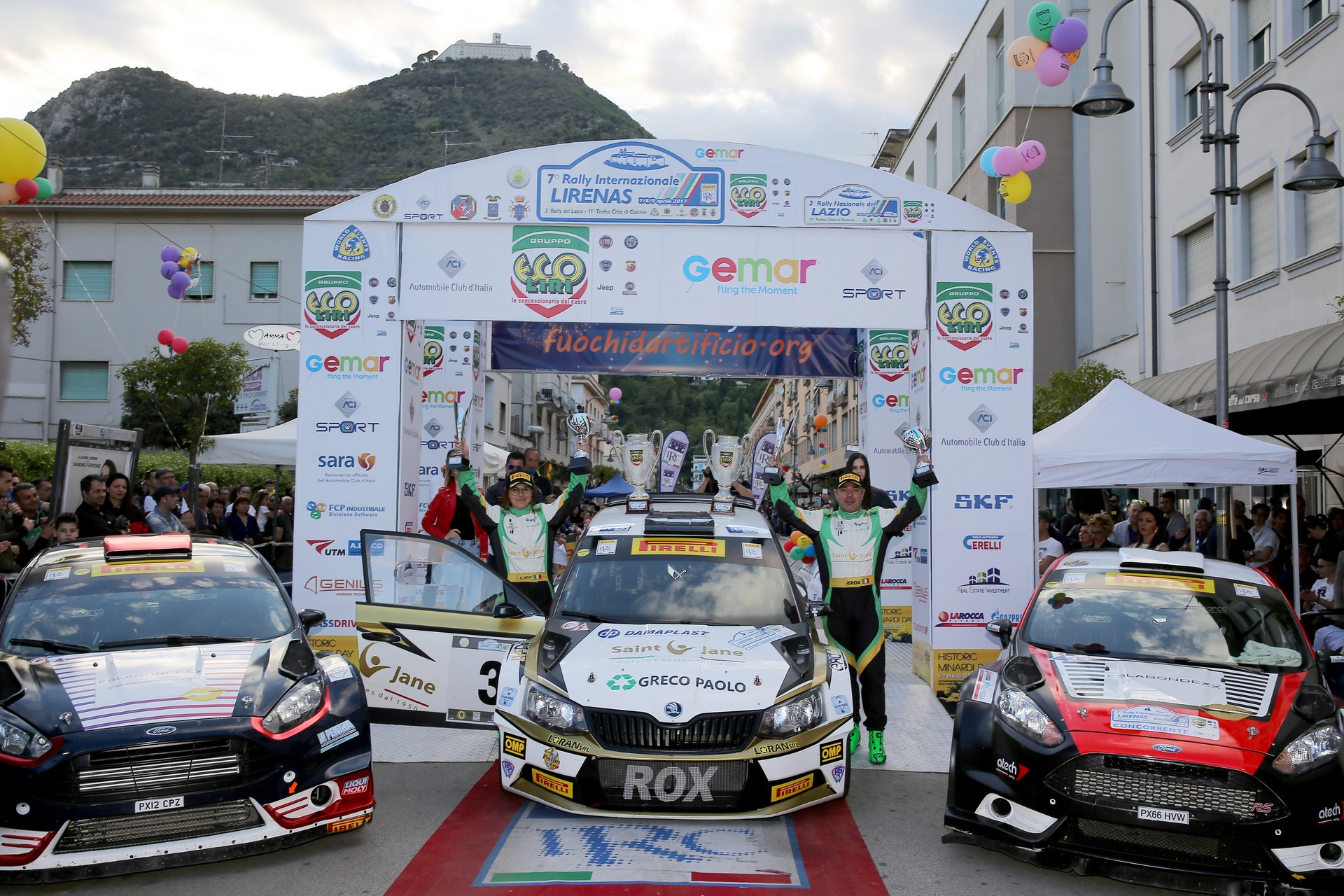 Rossetti-Mori - Rally Internazionale Lirenas IRC (ph. Massimo Bettiol)