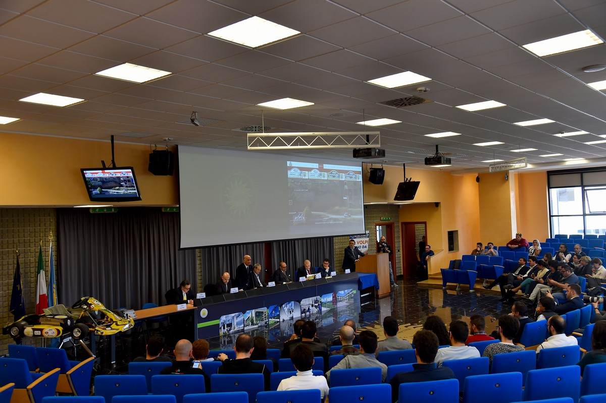Rally Internazionale Lirenas IRC 2017 - Conferenza Motorsport Università di Cassino e del Lazio Meridionale (ph. Massimo Bettiol)